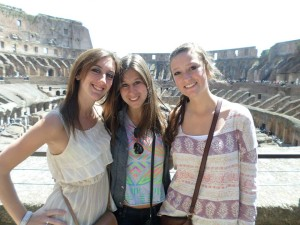 Colosseum on Rome, Italy