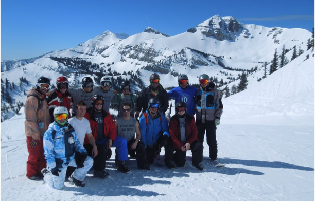 The ski club at Jackson Hole, WY