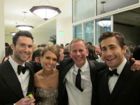 Jake and Adam at Globes