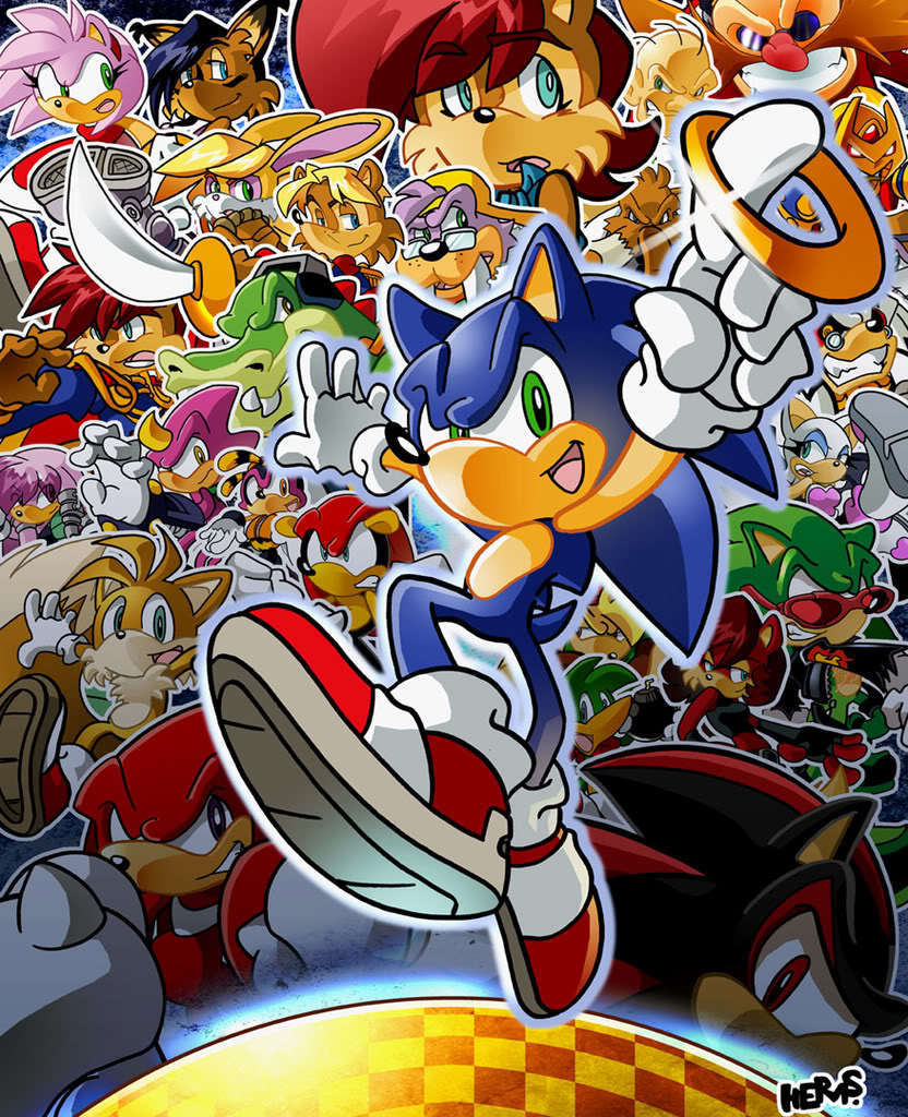Passion Blog 7 Sonic The Hedgehog A Video Game Icon Expanding Into Comic Books Matthew Jentis Blog My Love Of Everything Comics
