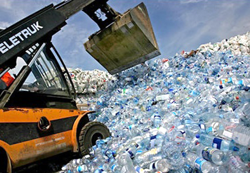 Image result for Water Bottle Production Wastes Tons Of Water