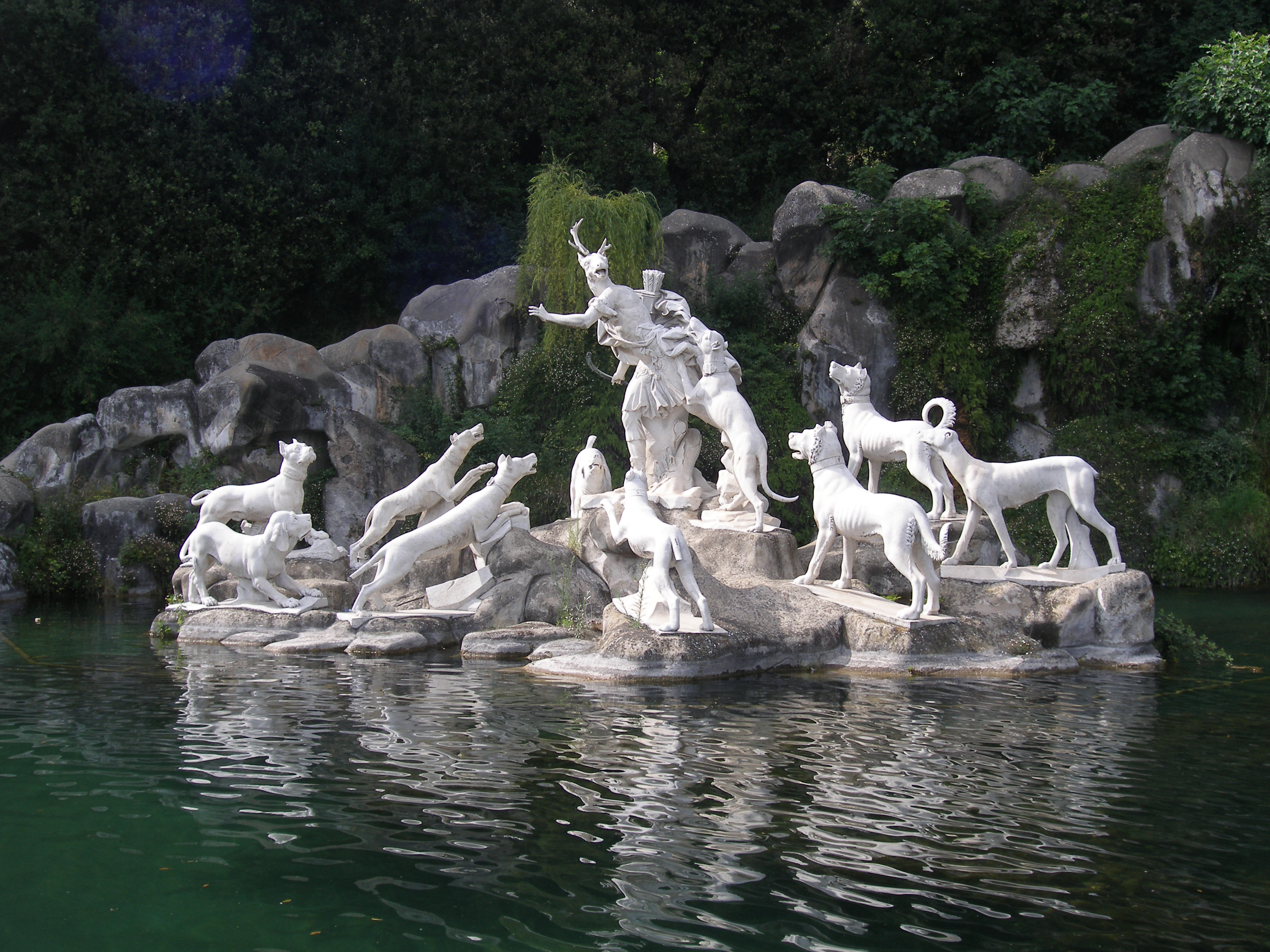 The Diana and Actaeon Fountain at the Feet of the Grand Cascade