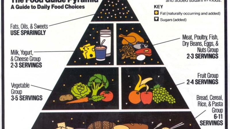 1992: Food Guide Pyramid
