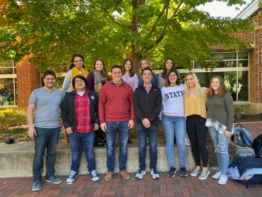 Miyashiro Lab Fall 2019 Missing: Ericka, Katrina