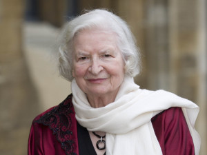 Mandatory Credit: Photo by David Hartley/REX (881935h) P.D James Oxford Literary Festival, Christchurch College, Oxford, Britain - 30 Mar 2009 The dinner in honour of Baroness PD James, in the presence of HRH the Duke of Kent, held in the Great Hall of Christchurch College.