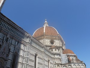 The Duomo from street level.