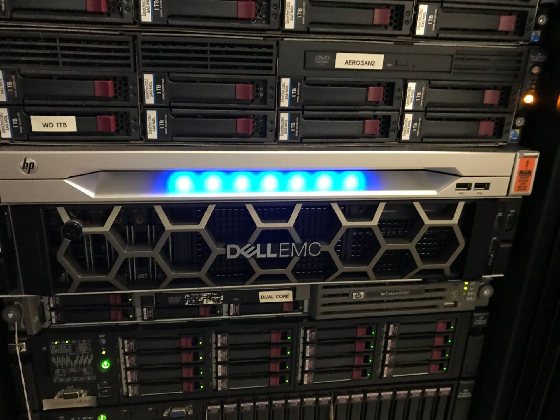 New Dell Server Installed! – Advanced Structures Laboratory
