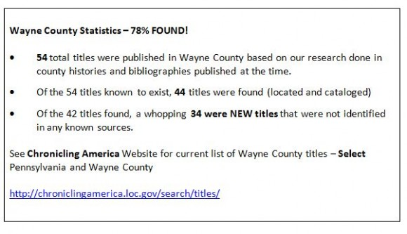 Wayne County Stats Snip Capture