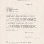 ESU Paul Beaty Ltr Oct 8 1987