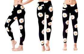 Yoga pants made from recycled PET bottles