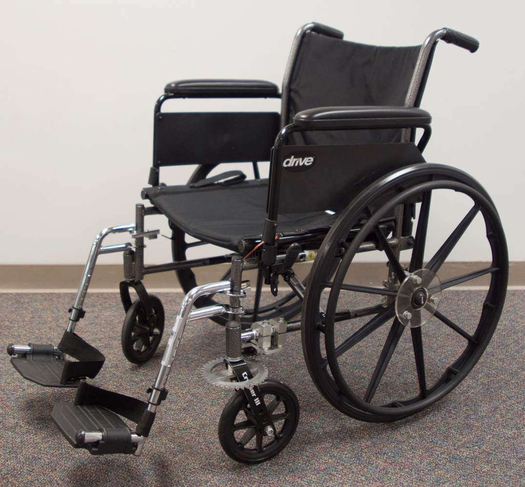 Allez: A Modular One Arm Wheelchair Drive Attachment for Persons with Hemiplegia
