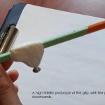 Pencil with adaptation