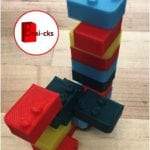 Brai-cks: A didactic toy to learn reading Braille.