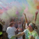 Image of people at the Color Run.