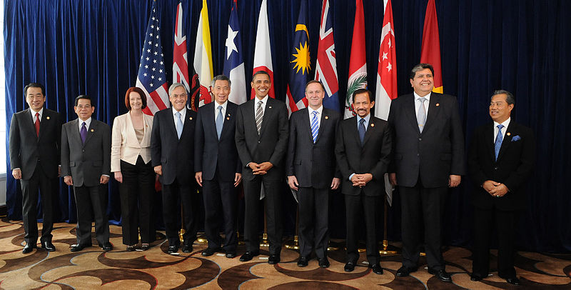 TPP Member Nations Leaders Meeting in 2010