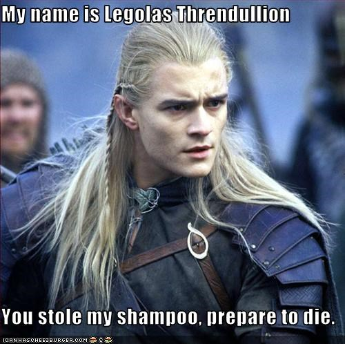 If the elves would just chill about their hair and wear a helmet, the casualty rates would plummet.