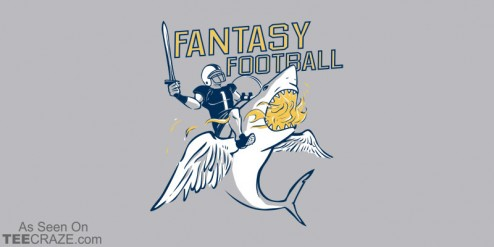 Although Fantasy Football still counts as fantasy. Just with less swords.