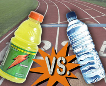 are sports drinks better than water