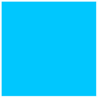 Using the numerical labels found to be the most desirable in the graph above, this shade of blue was calculated to be the most desirable color.
