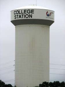 College Station water tower
