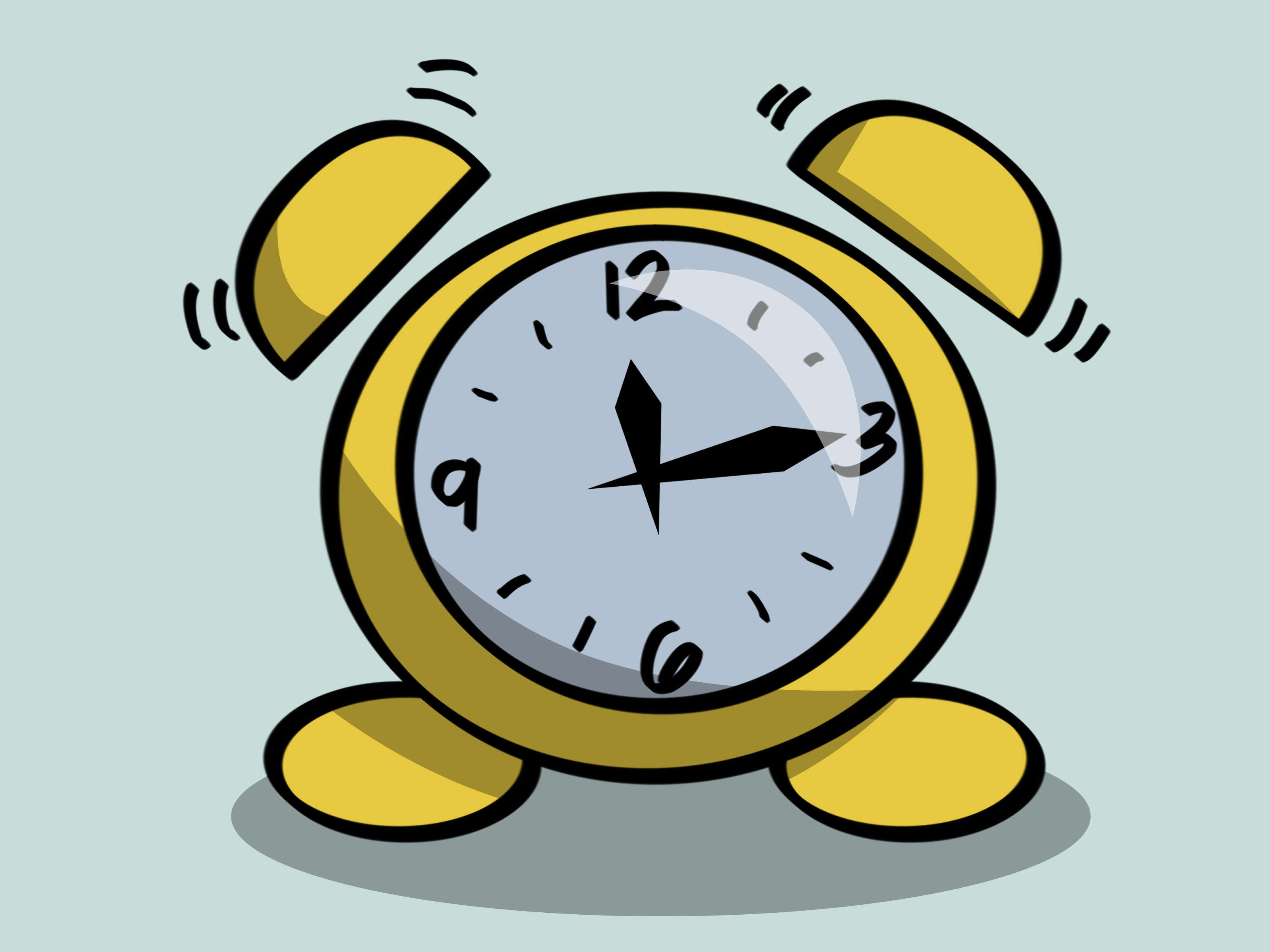 Draw An Old Fashioned Alarm Clock Step 15