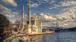 This is a picture of Istanbul, Turkey.