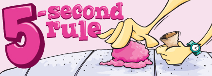 Is The 5 Second Rule True Siowfa16 Science In Our