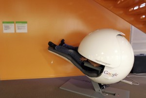 Sleep pod at Google