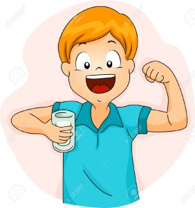 16840184-illustration-of-a-boy-demonstrating-the-strength-of-his-bicep-after-drinking-milk-stock-illustration