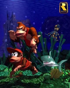 donkey_kong_country_underwater_title_screen_snes_version