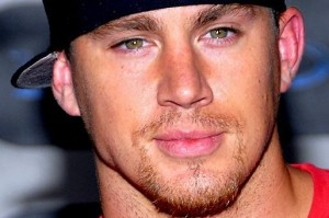 Channing Tatum's green eyes. From muscledudelife.com
