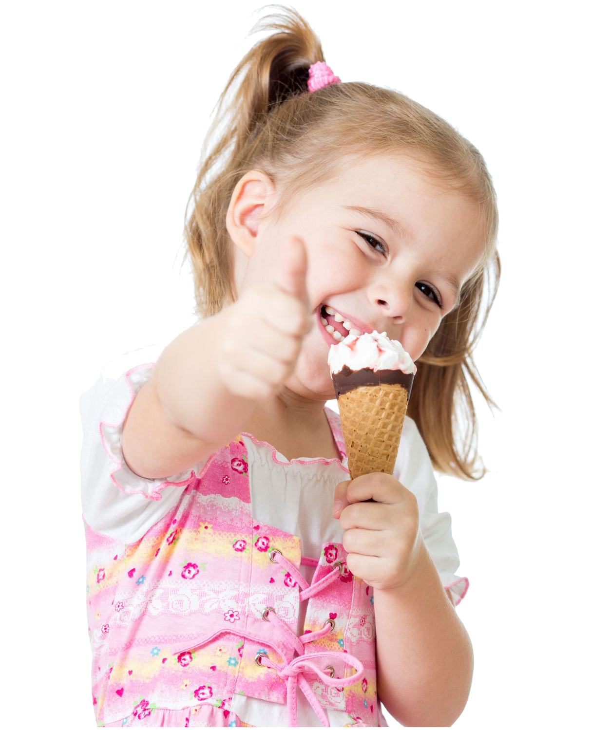 Congratulate, this Girl covered in ice cream