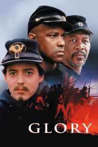 The film poster for Glory (1989)