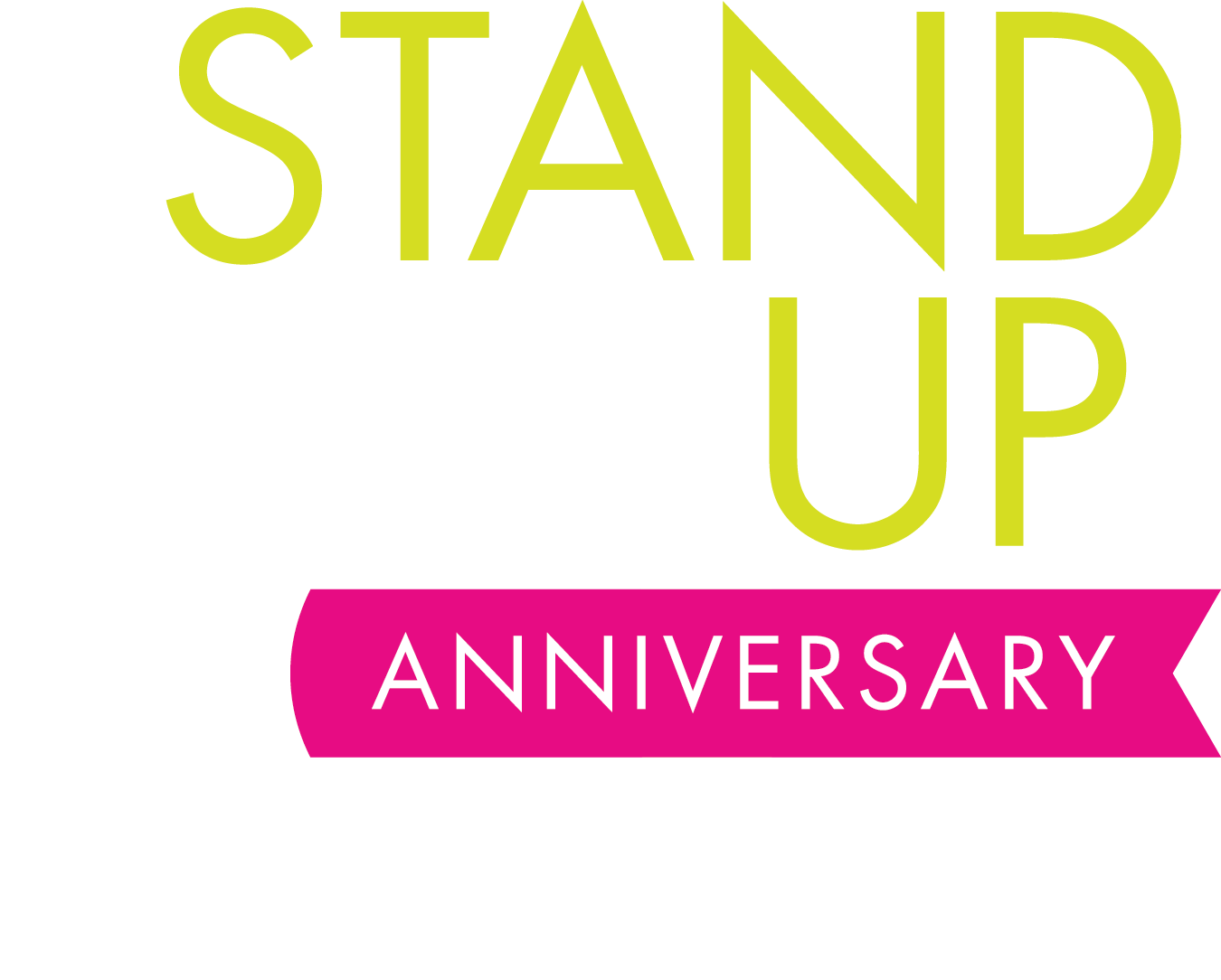 Stand Up 10th Anniversary Logo
