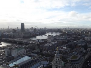 Daytime view of London Cityscape