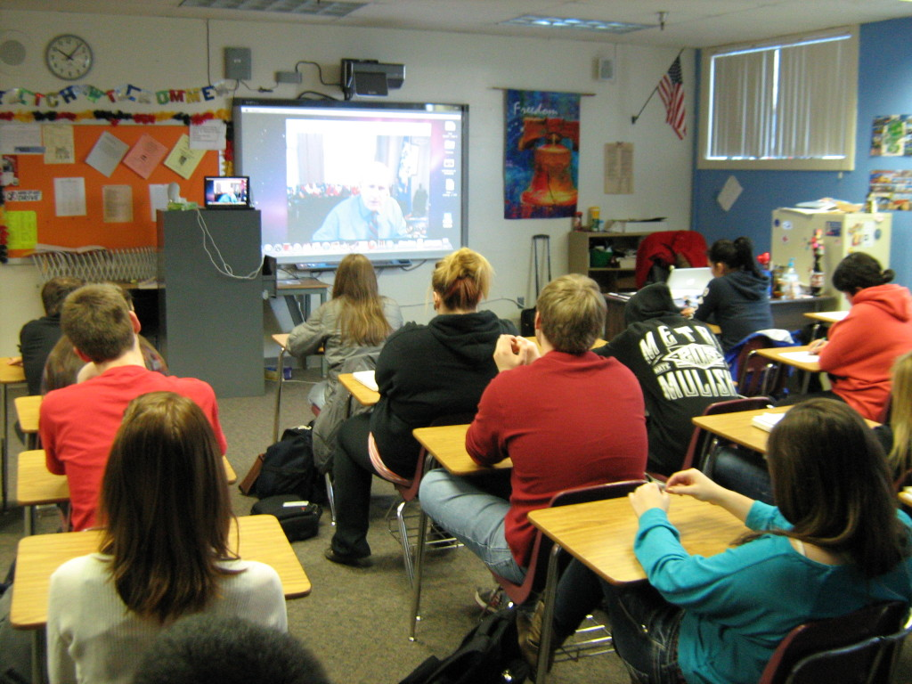 Modern High School Classroom ~ Technology in education take advantage of all available