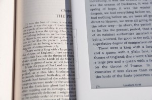 Kindle:The New Entertainment of Reading-E-Ink