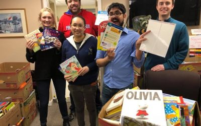 PSU Graduate and Professional Student Association Helps with Book Drive