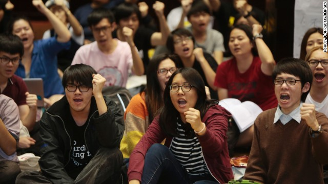 Taiwan Students Protest