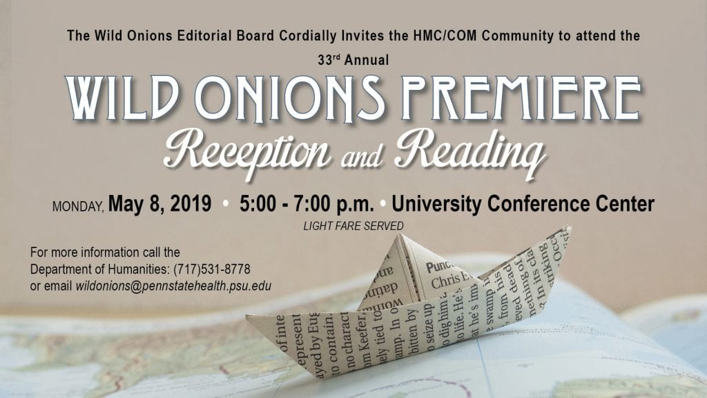 Please join us for the 33rd Annual Wild Onions 2019 Premiere Event
