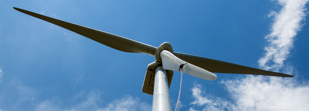 NREL photo of wind turbine