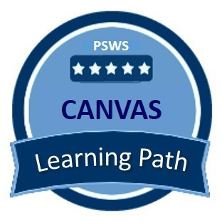 PSWS Canvas Learning Path Badge