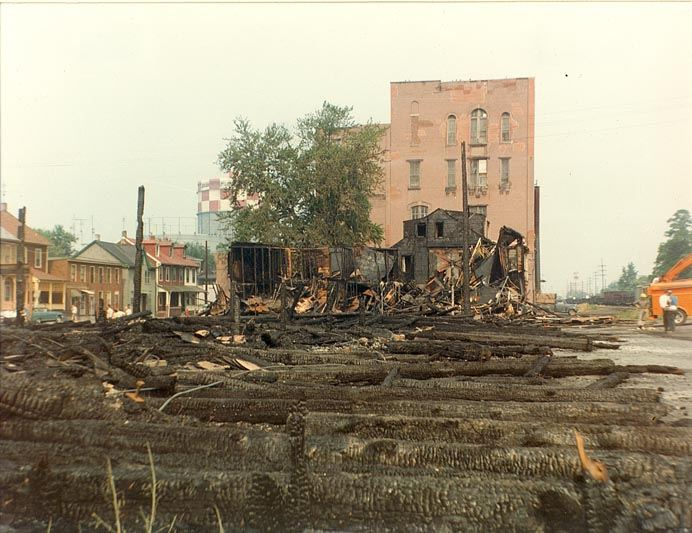 BESTCO Corp. Fire (aftermath), 1966