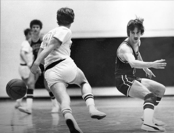 Billy Yetter Dribbles for Bishop McDevitt in AAA Playoffs, 1978