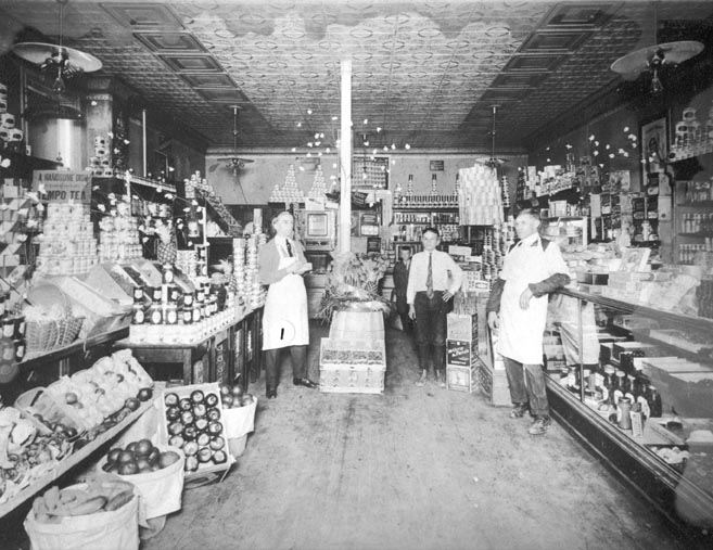Dan Polleck's First Steelton Store, 109 N. Front Street, 1920