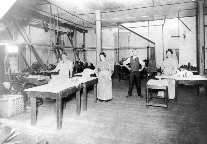 Excelsior Steam Laundry (Interior), 116 N. Front St., 1895