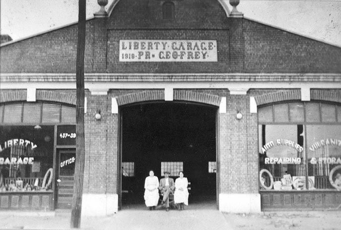 George Frey's Liberty Garage (and Maxwell), 1919 (3)