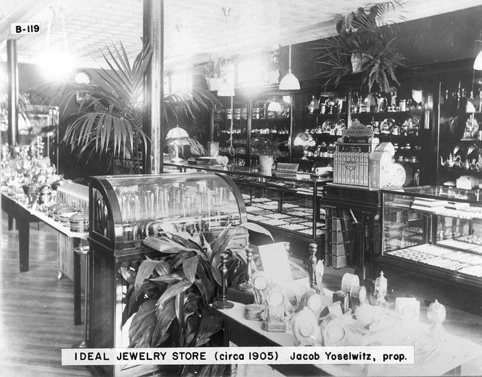 Ideal Jewelry Store (Original Store) 1905