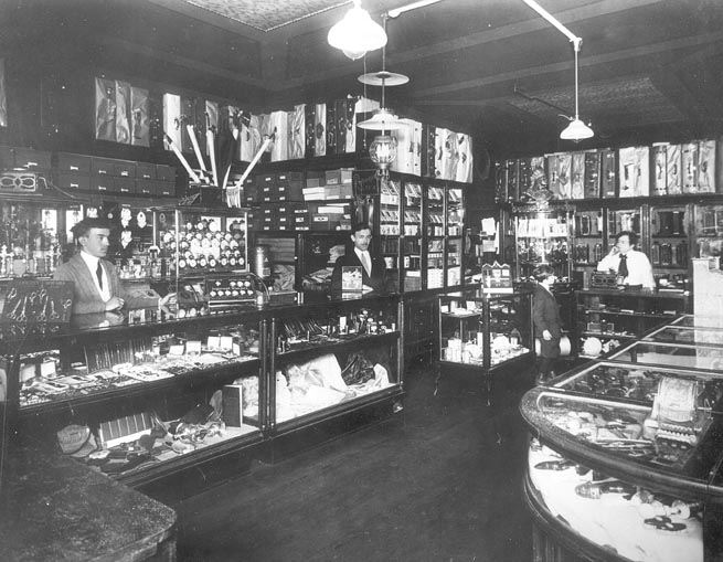 One View of Inside Joseph Jiras' Store, 1911