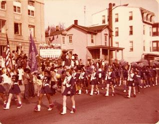 Parade for Steel High Basketball Team Eastern Champions, 1977